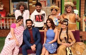 'Befikre' team have a gala time at The Kapil Sharma Show