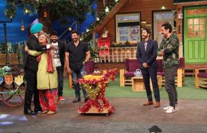 Ali Asgar's birthday celebration on The Kapil Sharma Show