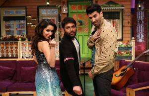 Shraddha Kapoor-Aditya Roy Kapur and Kapil Sharma