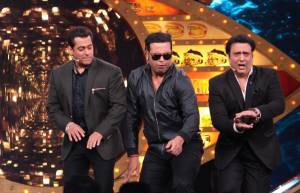 Salman Khan with Govinda and Krushna
