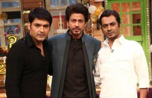 SRK and Nawazuddin promote 'Raees' on The Kapil Sharma Show