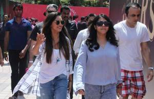 Krystle DSouza and Ekta Kapoor