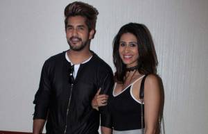 Suyyash Rai and Kishwer Merchantt