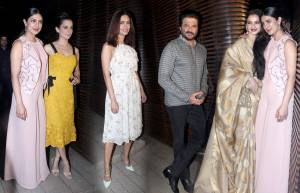 Celebs at Priyanka Chopra's party