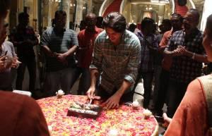 Sartajj's birthday celebration on Ek Tha Raja... set