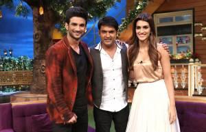 Sushant-Kriti promote Raabta on The Kapil Sharma Show