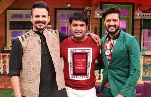 Team of Bank Chor on The Kapil Sharma Show