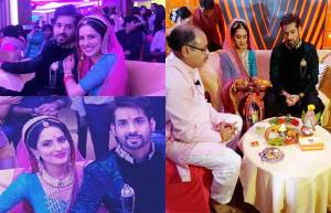 TV couple Puja Banerjee and Kunal Verma get engaged