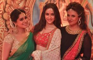 Deepika Kakkar, Sanjeeda Sheikh and Divyanka Tripathi