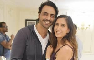 Arjun Rampal & Mehr Jesia Rampal