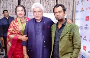 Shabana Azmi, Javed Akhtar & Nawazuddin Siddiqui