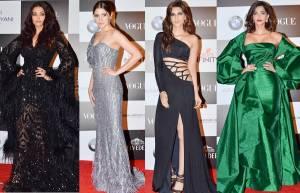 Aishwarya Rai, Anushka Sharma, Kriti Sanon, & Sonam Kapoor