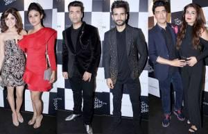 Shammita Shetty, Mouni Roy, Karan Tacker, Manish Malhotra & Raveena Tondon