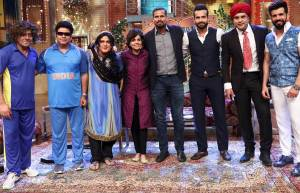 The Drama Company team gets clean bowled by Irfan & Yusuf Pathan