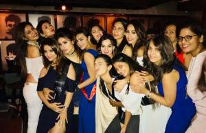 Aashka Goradia's Bachelorette party