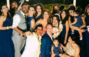 In pics: Aashka Goradia and Brent Goble's white wedding!