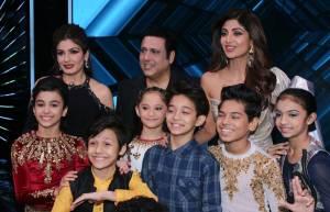 Govinda and Raveena grace Super Dancer