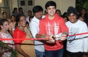 Taarak Mehta's young actors inaugurate handicraft work exhibition
