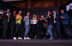 Celebs at the launch of MTV Super Fight League
