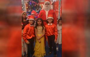 Christmas on the sets of Yeh Rishta