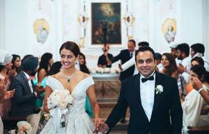 In pics: Surveen Chawla's fairy tale wedding!