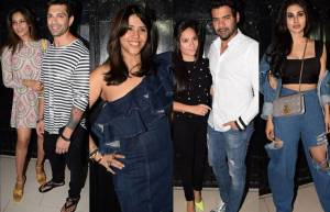 "Ekta Kapoor hosts a power-packed afterparty post ""The Test case"" screening"