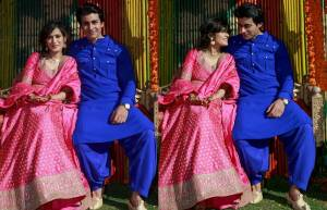 Gautam-Pankhuri's royal wedding celebrations