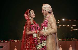 Unseen glimpses from Gautam & Pankhuri's royal wedding