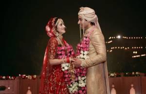 Unseen glimpses from Gautam & Pankhuri's royal wedding