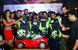 Team Mumbai Tigers roars at the Jersey launch
