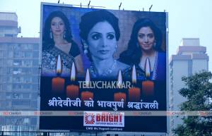 Sridevi's last rites will be penned in the history