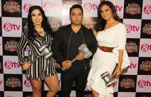 Dana Alexa, Ahmed Khan and Lara Dutta