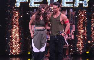 Tiger & Disha grace &TV's High Fever...Dance Ka Naya Tevar