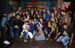 In pics: Shani's wrap-up party!