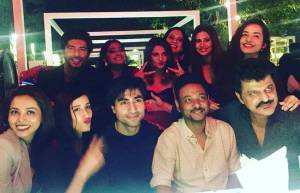 TV actors at Colors' Bepannaah screening