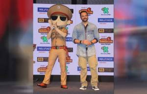 Rohit Shetty introduces 'Little Singham'