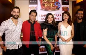 Launch of Entertainment Ki Raat@9