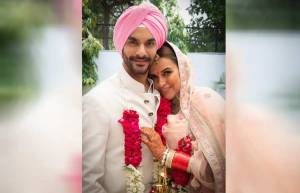 Angad Bedi and Neha Dhupia's wedding album