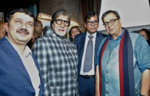 Exhibition of unseen portraits of Amitabh Bachchan