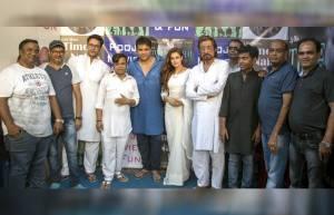On the sets of Krushna, Yuvika & Rajniesh starrer Time Nahi Hai
