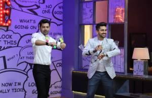 TV hunks Barun Sobti and Zain Imam grace Zee TV's JuzzBaatt