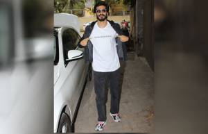 Bollywood celebs attend Bhavesh Joshi Superhero's screening