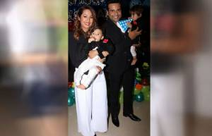 Krushna-Kashmira celebrate twins Rayaan and Krishaang's 1'st birthday