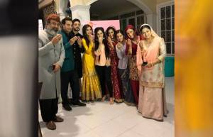 Ishq Subhan Allah team celebrates EID on the sets