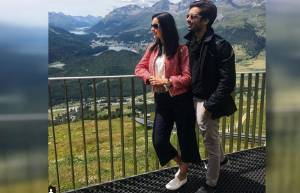 Sanaya Irani and Mohit Sehgal romance in Switzerland