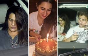Sara Ali Khan's birthday- A starry affair!