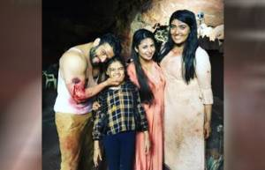 YHM actors have a blast while shooting for the cave track