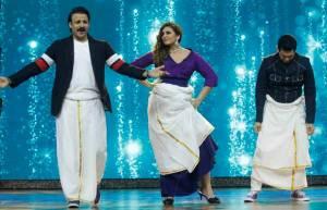 Vivek, Huma & Omung performs Lungi dance on India's Best Dramebaaz