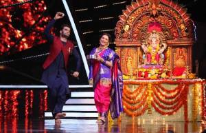Maha Ganpati special on Indian Idol 10