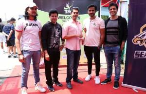 Celebs grace Tennis Premier League's talent hunt day